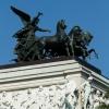 Quadrige am Dach des Wr.Parlaments